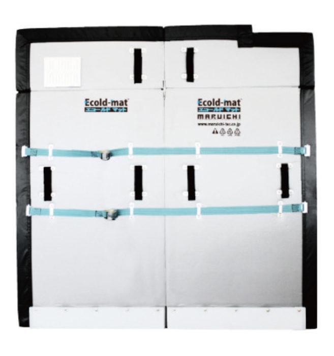 冷凍・冷蔵車用間仕切り「エコールドマット」