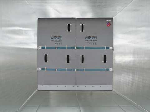 冷凍・冷蔵車用間仕切り「エコールド・ボンドレス」