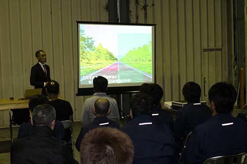 大安 事故防止セミナーを開催「安全運転の徹底を」