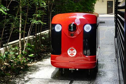 ZMP 無人配送の実現へ、日本郵便と実証実験開始