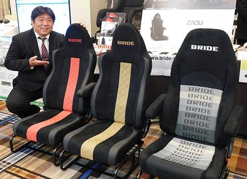 ブリッド トラック専用シート「ZAOU」を開発