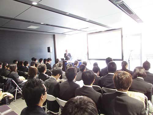 JILS 物流業界研究フォーラム、学生に企業PR