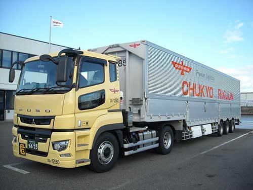 中京陸運 軸重計装備の車両を導入
