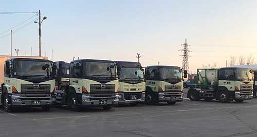 釧路貨物自動車 ヒーター導入は必需投資、荷主の要請がきっかけ