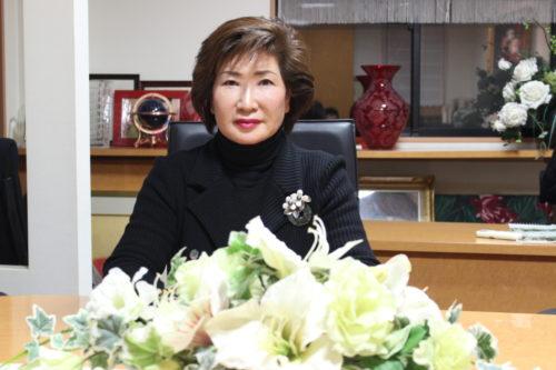 栄光陸運株式会社 鈴木栄子社長