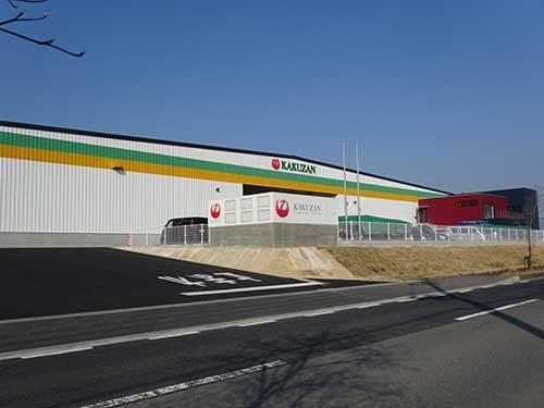 鶴山運送 初の営業倉庫が完成、作業の安全性も配慮