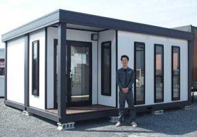 OSO特車サービスのユニットハウス 建物ごとに引越し可能