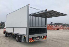 エフテック 可動式ハイリフトゲート、ニーズに合わせ受注生産