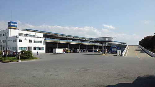 ランテック 福岡支店が竣工、荷役効率の向上図る