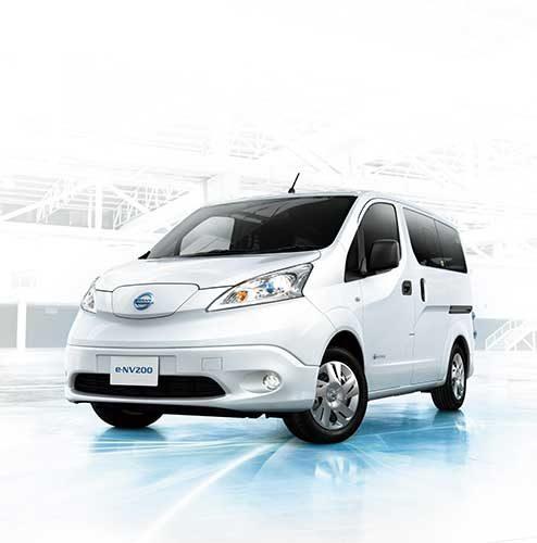 日産自動車 「e―NV200」の仕様向上、航続距離300キロを実現