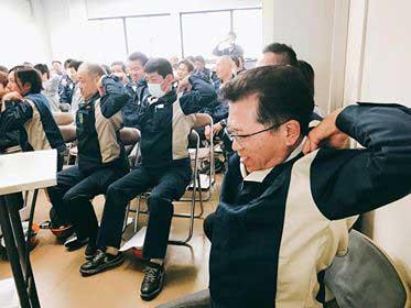 東山物流 安全講習会で睡眠の重要性を学ぶ