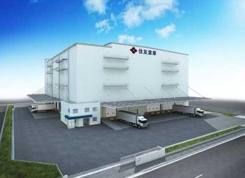 住友倉庫 南本牧埠頭に新倉庫、来年6月竣工予定