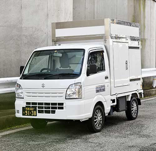 共立トランスポート 軽の低温冷凍車開発、久松自動車販売と共同で