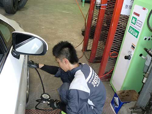 24システムタイヤサービス 窒素ガス充填サービスを開始