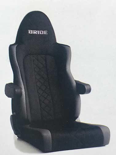 ブリッド 新たな運転環境を提供、トラック専用シート「ZAOU」