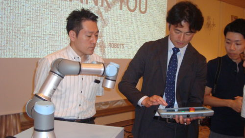 ユニバーサルロボット日本支店 テクニカルワークショップを開催