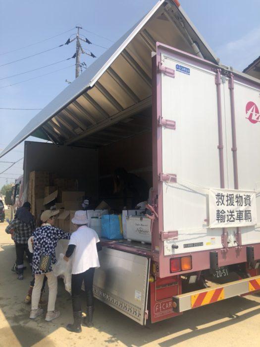 AZロジ 被災地へボランティア、感謝の気持ちがサポート