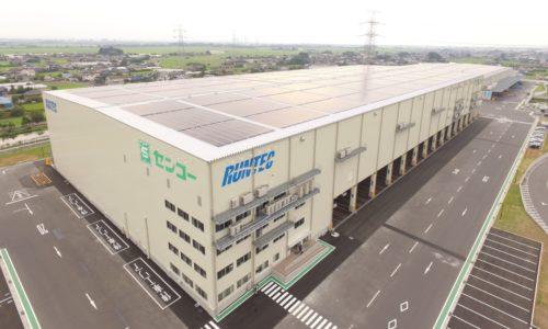センコー 加須センターに2号倉庫を竣工