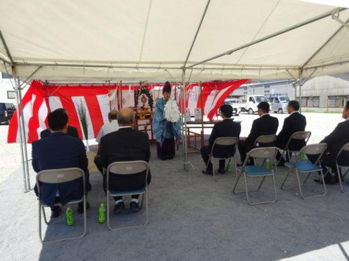 富士運輸 北九州支店地鎮祭「目標は50台保有する支店」