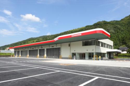 山口日野自動車 岩国支店を移転