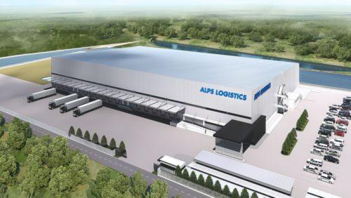 アルプス物流 タイに新倉庫、国際物流の重要拠点に