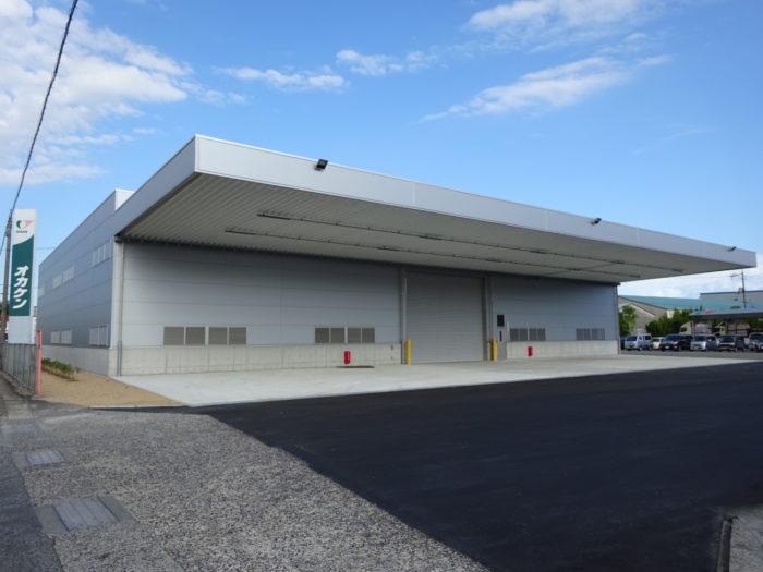 岡山県貨物運送 東備支店の施設稼働、物量増で保管庫増設