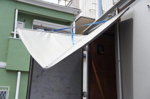 セブンエイト流通コンサルタント 雨よけ装置「カーゴタープ」販売