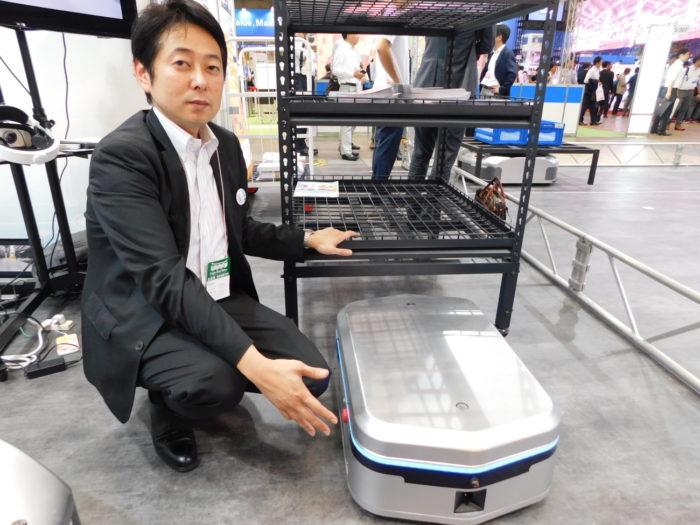 ギークプラス AI物流ロボット販売、様々な搬送に対応