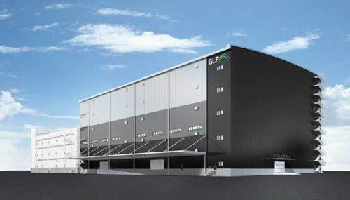 日本GLP 「浦安II」の一部建て替え、2棟連結で効率性向上