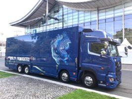 富士運輸 ドイツモーターショーにオールジャパン仕様のトラックを出展