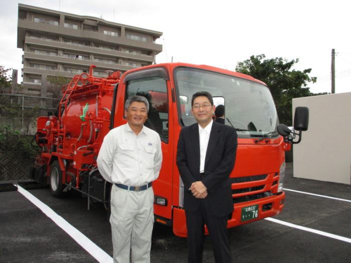 トーア物流広島営業所 道路を作る仕事に誇り、荷下しで光る職人技術