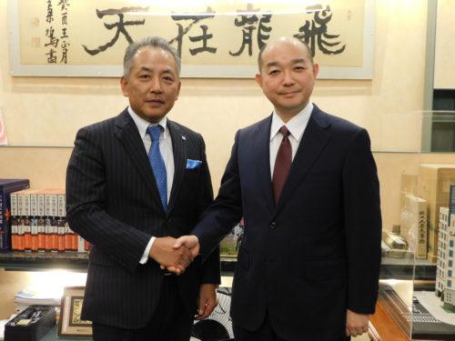 新春特別対談 大塚倉庫 濵長社長・龍角散 藤井社長