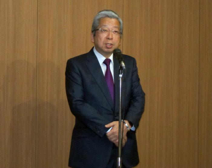 日本郵便 横山邦男社長 全国2万4000の郵便局ネットワークは絶対に維持