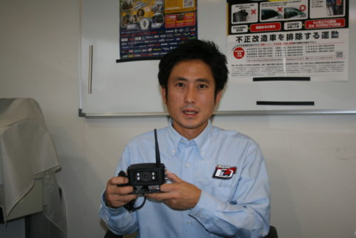 デルタ フォーク用ドライブレコーダー「現場監督」 運転サポートが特徴