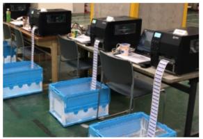 日立物流 電子タグで情報共有へ、今年も実証実験に協力