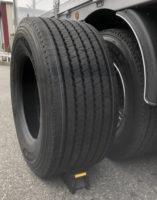 ダイワ運輸 小径のワイドタイヤを採用、国内初