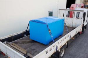日建リース工業 大阪活魚センターの効率的な物流体制構築へ