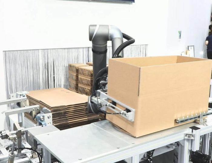 ナベル 協働ロボットを販売 在庫管理の自動化も