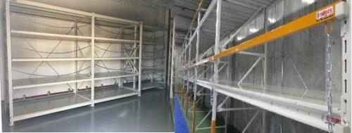 フタハシ技研 危険物倉庫専用ラック「Bridges」を販売