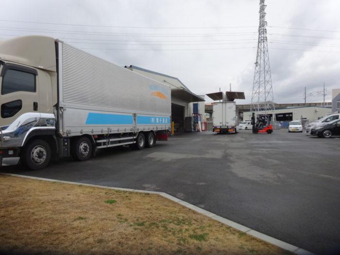 舞子運送 第2倉庫が操業開始、4月には相生営業所も