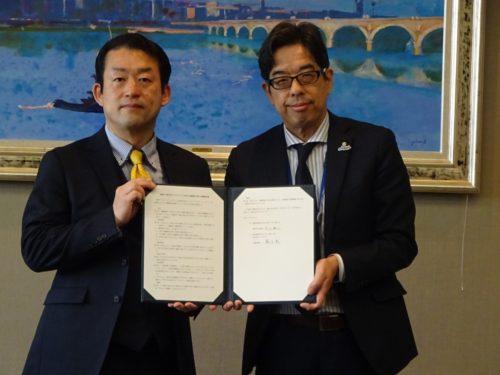 福岡市とママスクエアが連携協定を締結 一層の活性化が目的