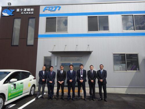 富士運輸北九州支店 完全個室の仮眠室を完備