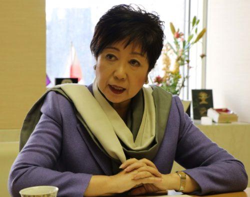 東京オリ・パラ成功へ、運送会社に協力呼びかけ 小池百合子都知事