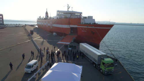 近海郵船 日本海側の航路が13年ぶりに就航