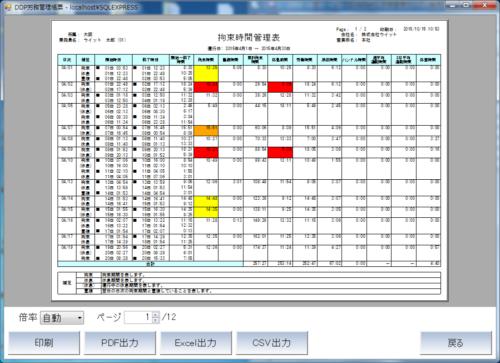 ウイット 「労務管理システム」販売、デジタコデータを活用