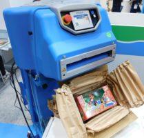 パルテック Ranpak社の紙梱包資材活用で脱プラスチックの促進提案