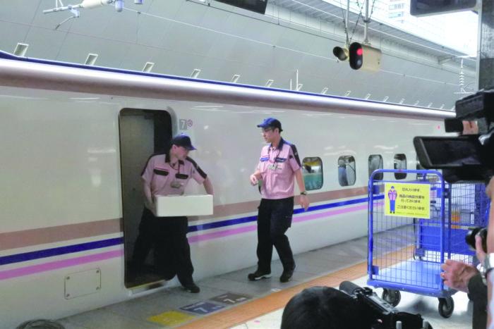新幹線物流 JR東日本が実証実験スタート