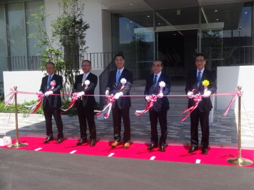 三菱地所など3社 ロジポート川崎ベイ竣工式