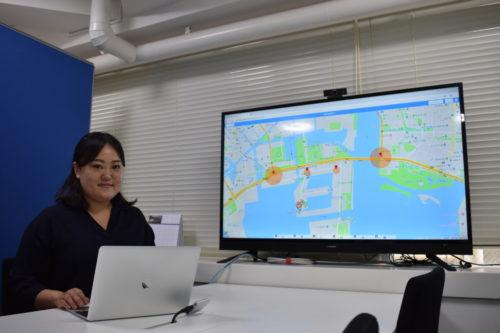 ドコマップジャパン 車両動態管理システムにエリア通知機能を追加