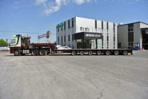 東日本産業輸送 多軸伸縮式トレーラ導入「重いものから長いものまで」